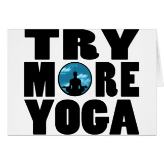 try yoga png greeting cards