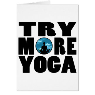 try yoga png card