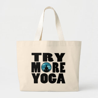 try yoga.png tote bags