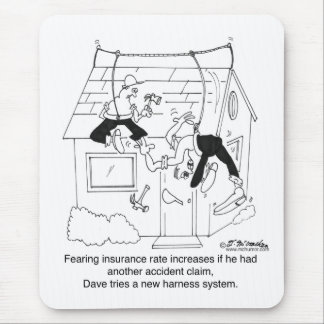 Trying A New Safety Harness Mouse Pad
