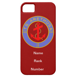 TS Arethusa Name Rank Number Customisable iPhone 5 Covers