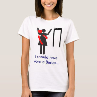 TSA Search Burqa T-Shirt