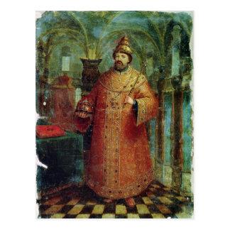 Tsar Ivan Alexeevich V Postcard
