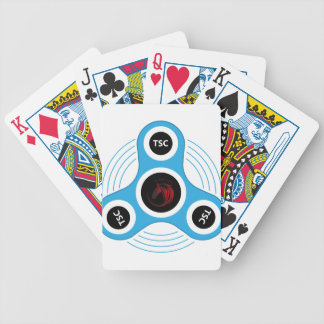 TSC  fidget spinner Bicycle Playing Cards