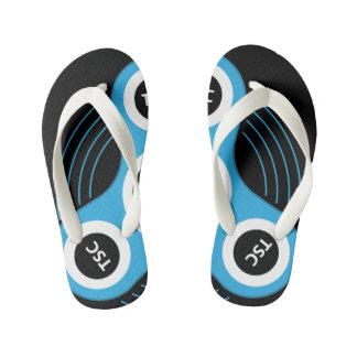TSC Fidget Spinner Kid's Flip Flops