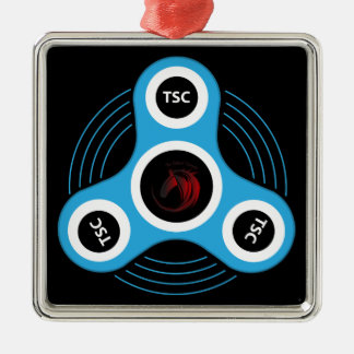 TSC  fidget spinner Metal Ornament