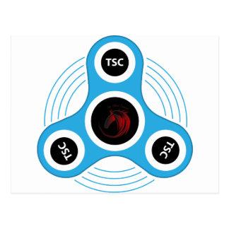 TSC  fidget spinner Postcard