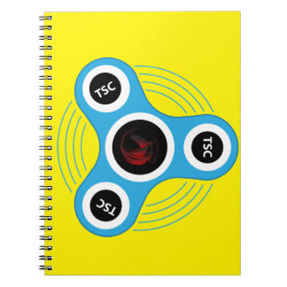 TSC  fidget spinner Spiral Notebook