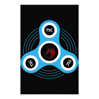 TSC  fidget spinner Stationery