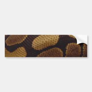 TSC Snake Skin Bumper Sticker