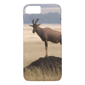 Tsessebe Antelope On Lookout For Predators iPhone 7 Case