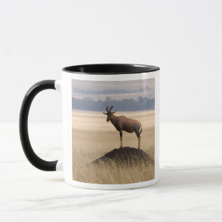 Tsessebe Antelope On Lookout For Predators Mug