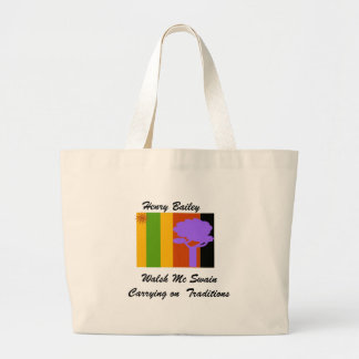 tshirt1, Walsh Mc SwainCarrying on  Traditions,... Large Tote Bag