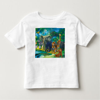 Tshirt animal children of the jungle