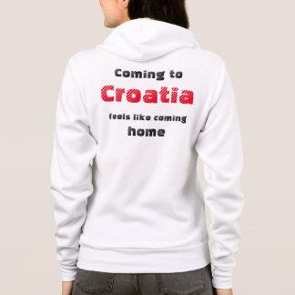 Tshirt: Coming to Croatia feels like coming home Hoodie