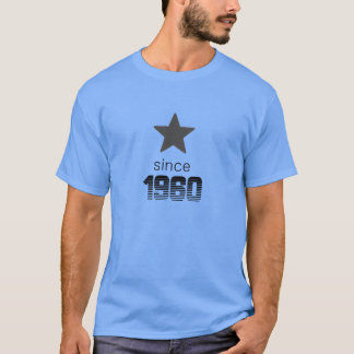 tshirt for birthday 1960