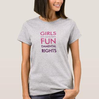 Tshirt - girls' rights