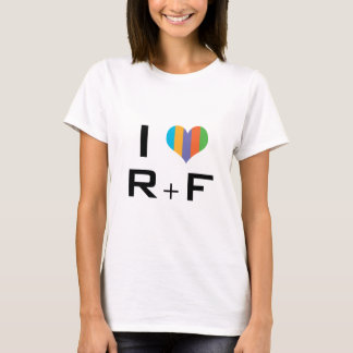 Tshirt I Love R+F