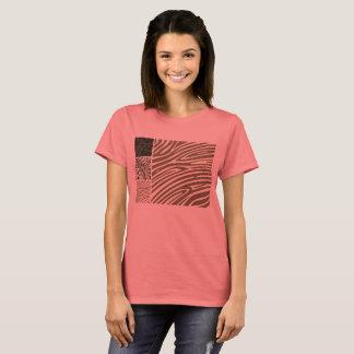 Tshirt : losos edition with  zebra STRIPES
