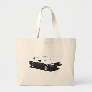 Tshirt Old Corolla-1983 Large Tote Bag