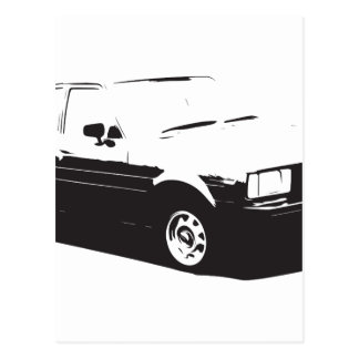 Tshirt Old Corolla-1983 Postcard