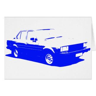 Tshirt Old Corolla blue-1983 Card