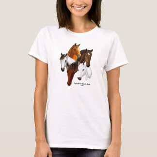 Tshirt,One horse past being That Crazy Horse Lady! T-Shirt