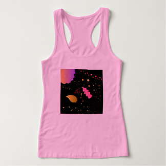 Tshirt pink with Black Ornaments