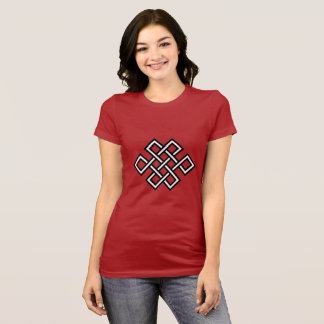 Tshirt will be woman with the tribal one