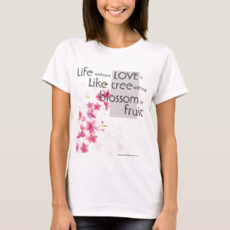 Tshirt with quote from kahlil gibran