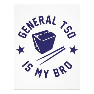 Tso is my Bro Letterhead