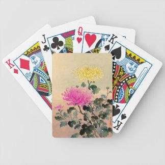Tsuchiya Koitsu 土屋光逸 - Chrysanthemum 菊 Bicycle Playing Cards