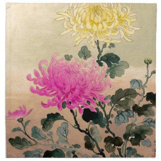 Tsuchiya Koitsu 土屋光逸 - Chrysanthemum 菊 Napkin