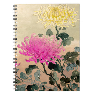 Tsuchiya Koitsu 土屋光逸 - Chrysanthemum 菊 Notebooks