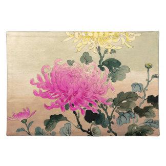 Tsuchiya Koitsu 土屋光逸 - Chrysanthemum 菊 Placemat