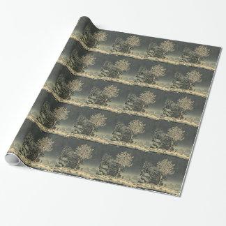 Tsuchiya Koitsu 土屋光逸 Sumidagawa Forest Tokyo Wrapping Paper