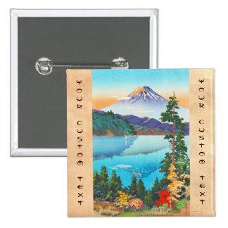 Tsuchiya Koitsu Lake Ashi in the Hakone Hills Pins