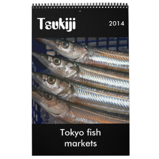 tsukiji photography 2014 calendar