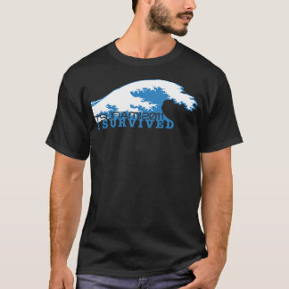 Tsunami 2011, I Survived, Earnings will be donated T-Shirt