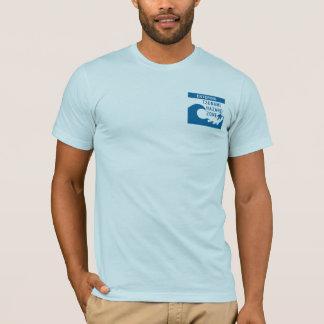 Tsunami road signs - Customized T-Shirt