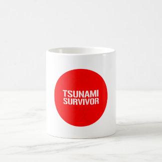TSUNAMI SURVIVOR BASIC WHITE MUG