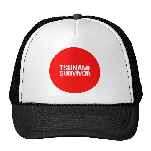 TSUNAMI SURVIVOR MESH HATS