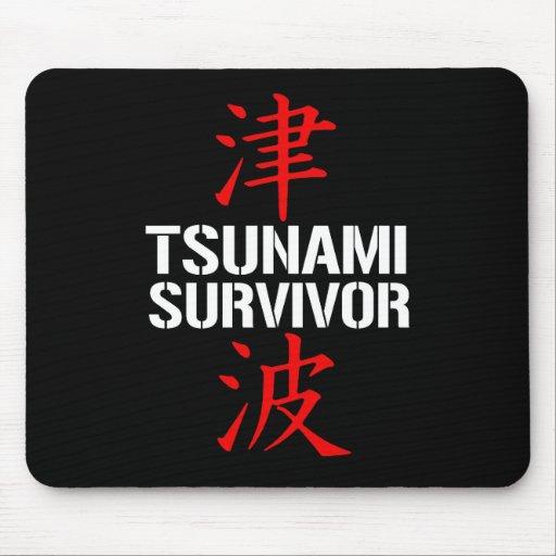 TSUNAMI SURVIVOR MOUSE PAD