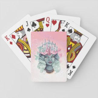 Tsuru Origami Girl Playing Cards