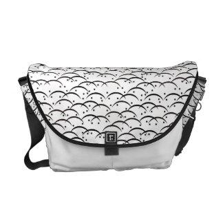 Tsuyushiba Japanese Pattern Messenger Bag