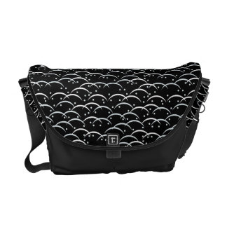 Tsuyushiba Japanese Pattern Messenger Bag B