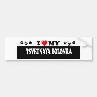 TSVETNAYA BOLONKA BUMPER STICKER