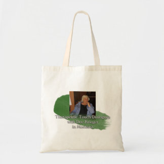 TT Dialogues with Dee - Green Tote