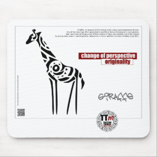 TT Meanings - GIRAFFE Mouse Pad