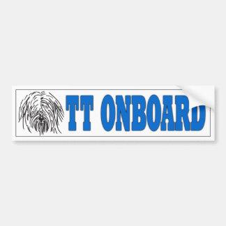 TT Onboard Sticker